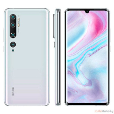 Xiaomi Mi Note 10 6GB 128GB Glacier White Global Version купить в Новокузнецке